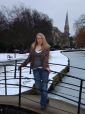 Winter by the canal